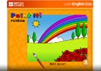Tic Paint it rainbow recurso para educación infantil inglés